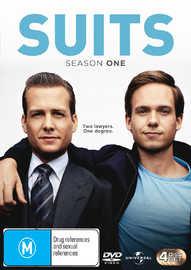 Suits - Season 1 on DVD image