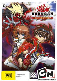 Bakugan: New Vestroia Collection 2 (2 Disc Set) on DVD