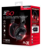 Turtle Beach Ear Force Z60 7.1 Gaming Headset for PC Games