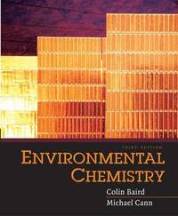 Environmental Chemistry by Colin Baird image