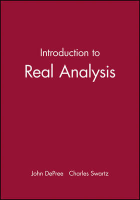 Introduction to Real Analysis by John DePree image