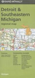 Folded Map Detroit Mi Regional by Rand McNally