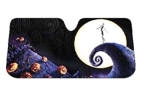 The Nightmare Before Christmas  Moon Accordion Bubble Sunshade image 59c560dcc78