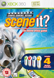 Scene It? Lights, Camera, Action (includes Buzzers) for Xbox 360 image