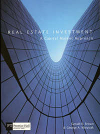 Real Estate Investment by Gerald R. Brown