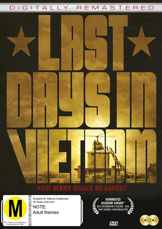 Last Days In Vietnam on DVD