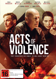 Acts of Violence on DVD