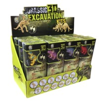 Discover Science: Jurassic 3D Excavation - (Assorted Designs)