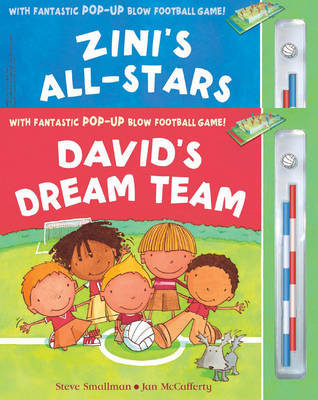 David's Dream Team and Zini's All-Stars by Steve Smallman image