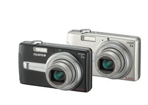 Fujifilm J50 8.2MP Digital Camera Silver Bundle 1GB XD and Case