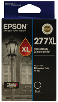 Epson Claria Ink Cartridge 277XL (Black)