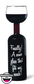BigMouth Inc - Wine Bottle - Novelty Glass