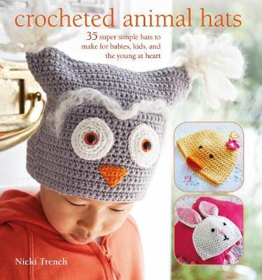 Crocheted Animal Hats by Nicki Trench image