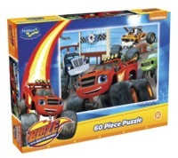 Holdson: 60pce Kids Puzzle (Monster Machine Action)