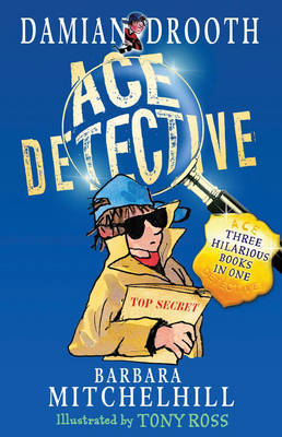 Damian Drooth Ace Detective by Barbara Mitchelhill image