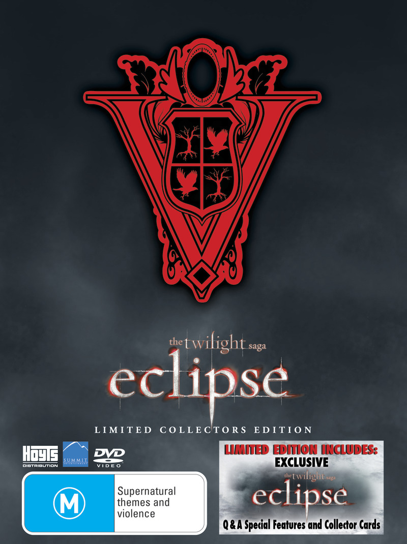 The Twilight Saga Eclipse Limited Collectors Edition 3 Disc Set