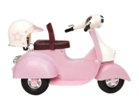 Our Generation: Ride in Style Scooter - Pink & Ivory