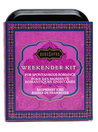 Kama Sutra Sensual Weekender Kit - Raspberry Kiss