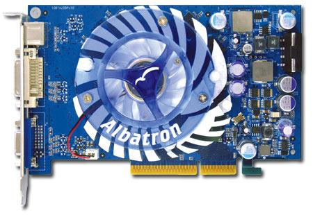 ALBATRON 6600GT 128MB DDR AGP image