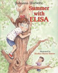 Summer with Elisa by Johanna Hurwitz image