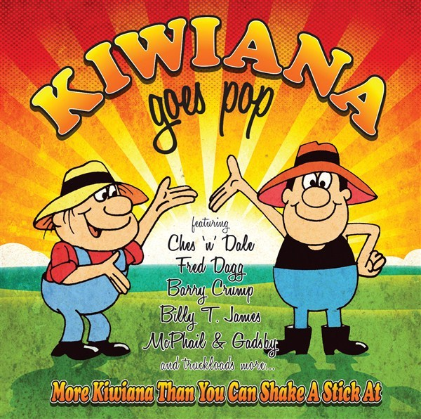 Kiwiana Goes Pop (2CD) by Various Artists image