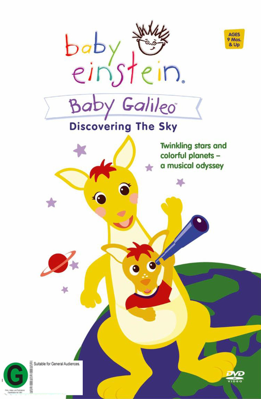 Baby Einstein - Baby Galileo: Discovering The Sky on DVD