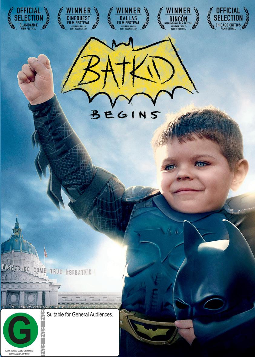 Batkid Begins: Wish Heard Around the World on DVD image