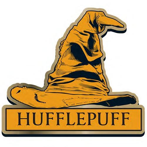 Harry Potter Hufflepuff Sorting Hat Badge