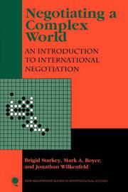 Negotiating a Complex World by Brigid Starkey image