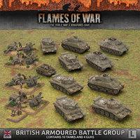 Flames of War: British Armoured Battlegroup (Late War Army Box)
