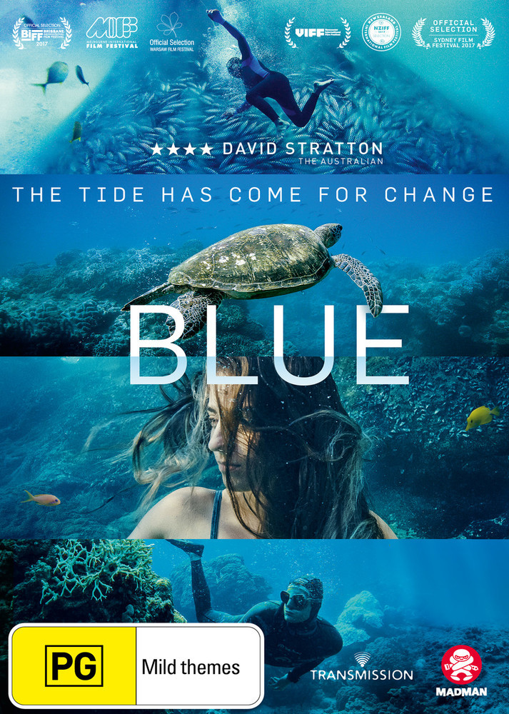 Blue on DVD image