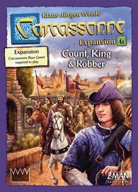 Carcassonne: Count, King & Robber - 2nd Edition