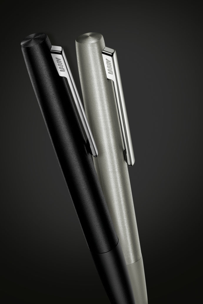 Lamy aion Ballpoint Pen - Olive/Silver image