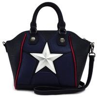 Loungefly: Marvel Captain America - Star Duffle Bag