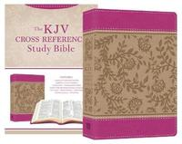 KJV Cross Reference Study Bible Compact [Peony Blossoms] by Christopher D Hudson