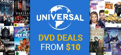 $10 & $15 DVD Deals!
