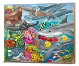 Creatures of the Sea wooden puzzle 48pc