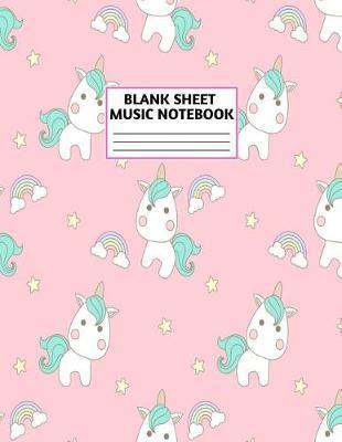 Blank Sheet Music Notebook by Wyatt Lin Music