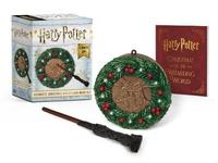 Harry Potter: Hogwarts Christmas Wreath And Wand Set by Donald Lemke image