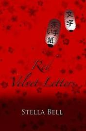 Red Velvet Letters by Stella Bell