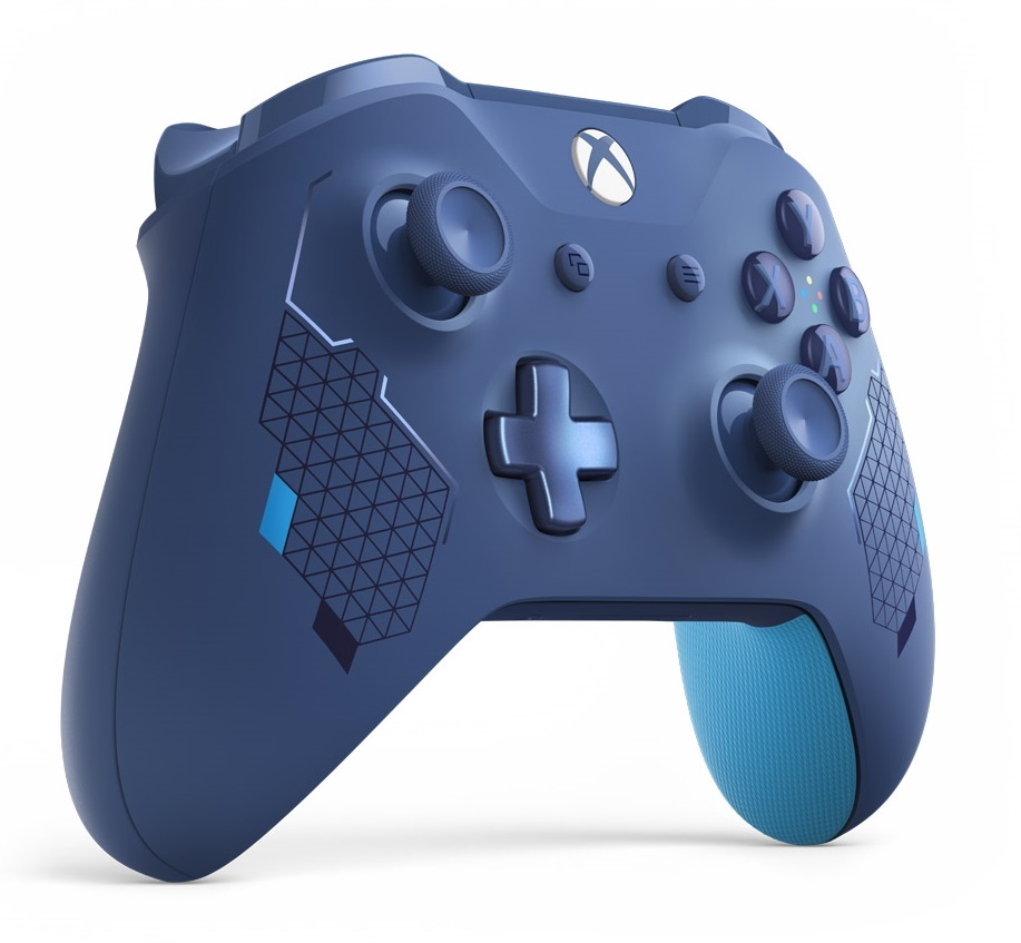 Xbox One Wireless Controller - Sport Blue Limited Edition screenshot