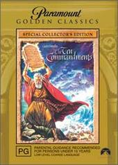 Ten Commandments, The - Special Edition (Golden Classics) (2 Disc Set) on DVD