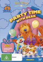 Bear In The Big Blue House - Vol. 5: Party Time With Bear on DVD