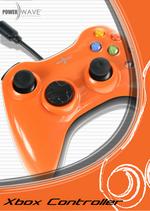 Powerwave 360 Shape Solid Orange for Xbox
