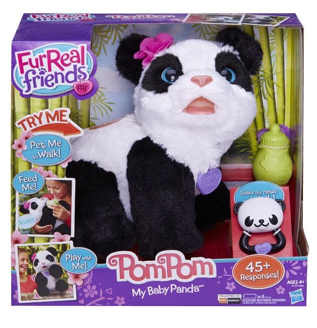 Furreal Friends Pom Pom My Playful Panda Toy At