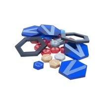 Dreadball Xtreme Acrylic Counters Blue