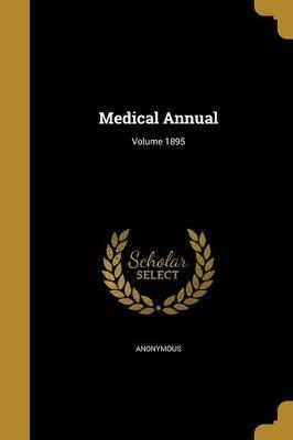 Medical Annual; Volume 1895
