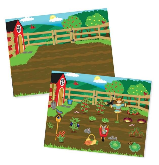 Melissa & Doug: Farm - Reusable Sticker Pad