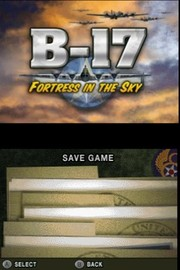 B-17 Fortress in the Sky for Nintendo DS image