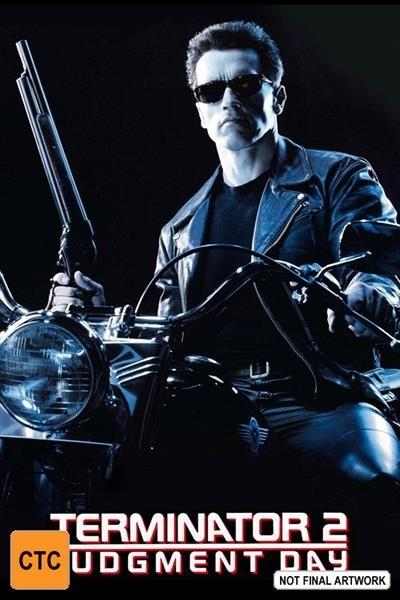 Terminator 2: Judgement Day on DVD image